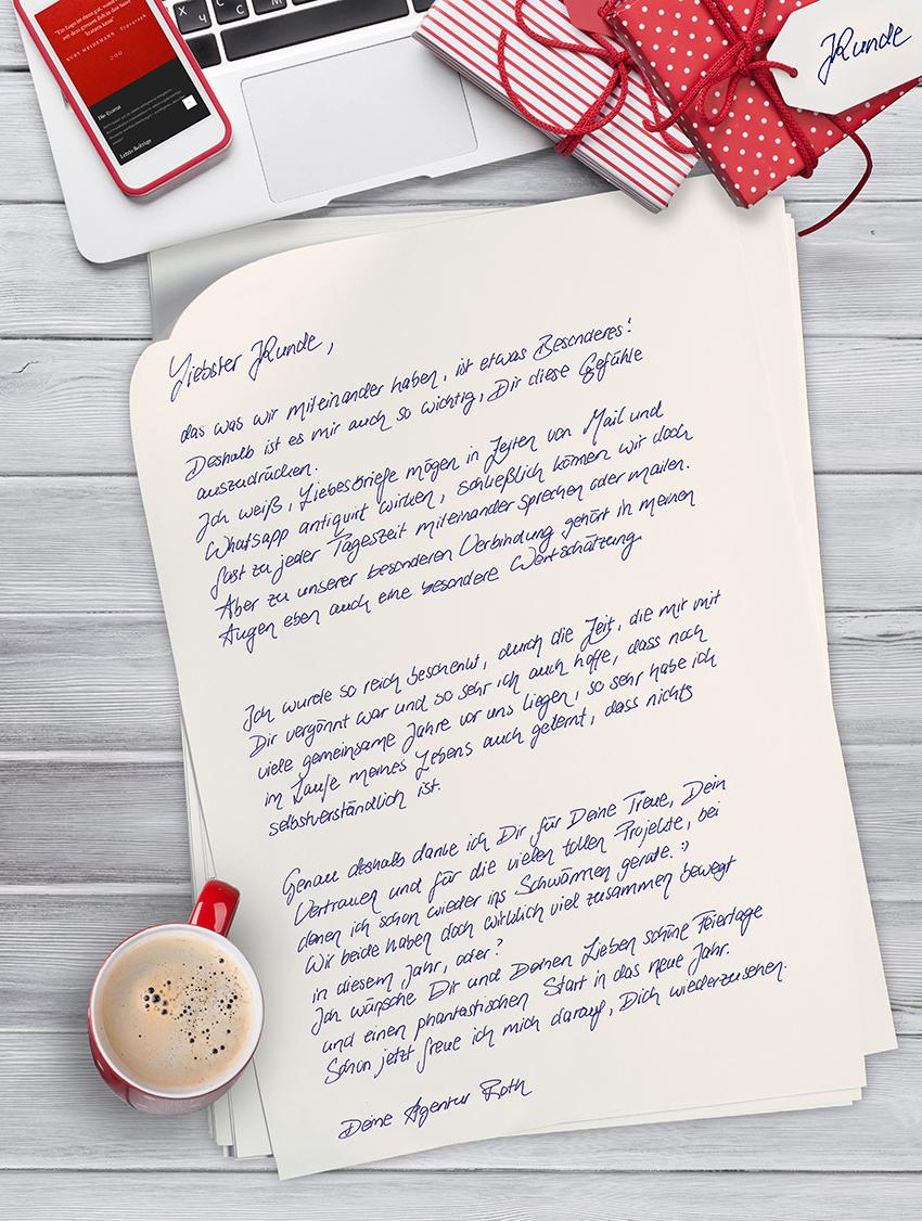 Frohe Weihnachten Brief.Roth Agentur Fur Markenwerbung Frohe Weihnachten